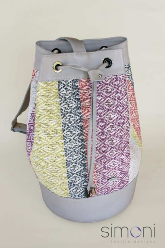 I love Colours hand-woven Duffel Bag